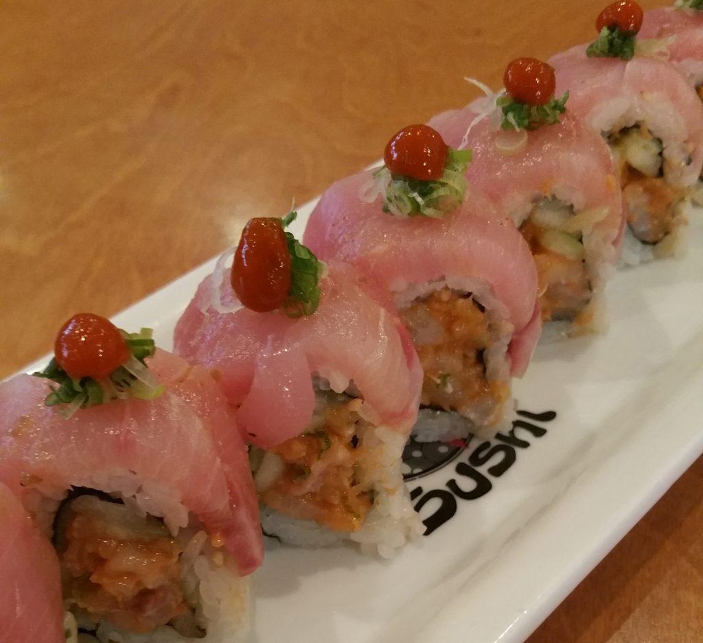 Yellow Sub Sushi Roll