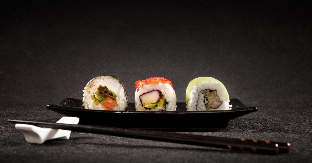 classic sushi rolls