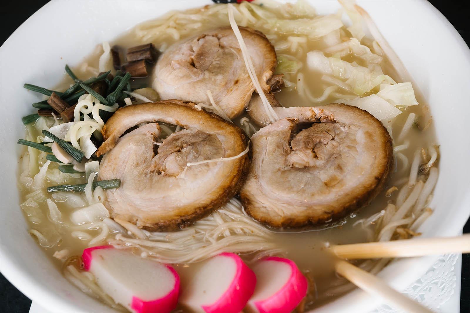 Pork slice ramen